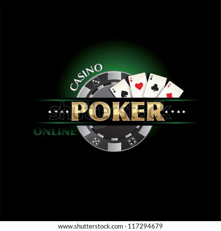 poker Casino - stock vector