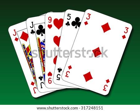 2 pair poker tour twitter icon for desktop