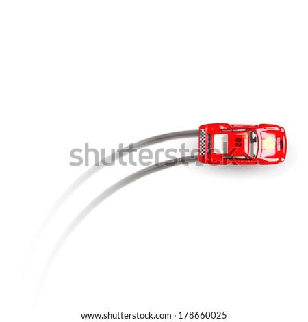 police car - stock vector