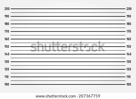 Police lineup or mugshot background - stock vector