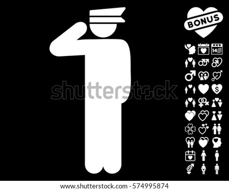 Police Officer Icon Bonus Lovely Symbols Stock Vector 574995874