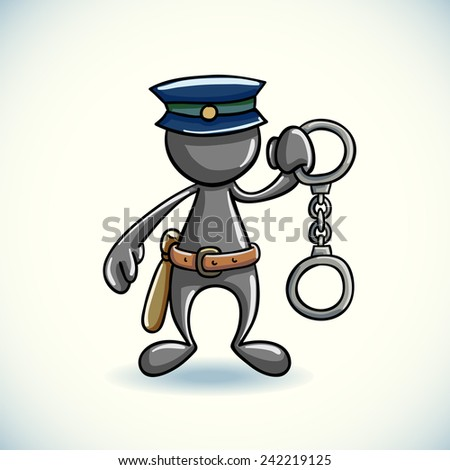 Police & Security - stock vector