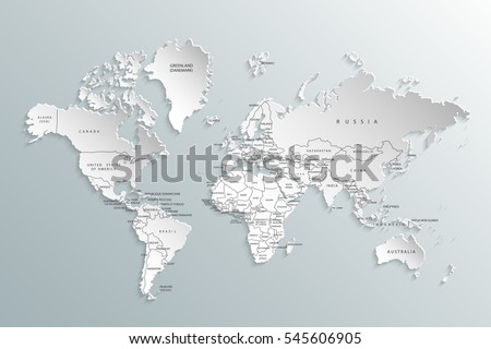 Political map world gray world mapcountries stock vector 545606905 political map of the world gray world map countries vector illustration gumiabroncs Image collections