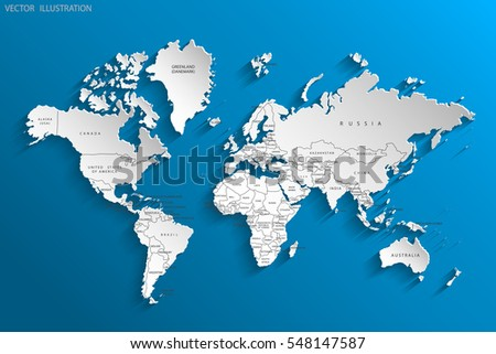 Political map world gray world mapcountries stock vector 548147587 political map of the world gray world map countries vector illustration gumiabroncs Choice Image