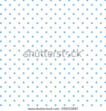 Polka dot background pattern - stock vector