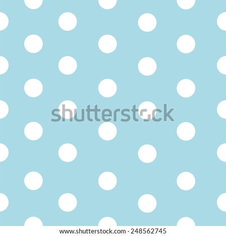 Polka dot pattern vector - stock vector