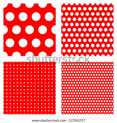 polka dot patterns --- contains global color and can be easily edited