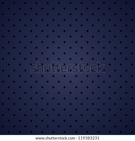 polka dot seamless pattern on blue background. esp10