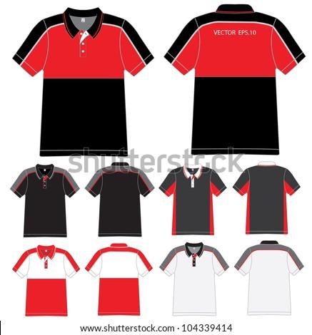 Polo Shirt Design Vector Template Stock Vector 104339414 ...