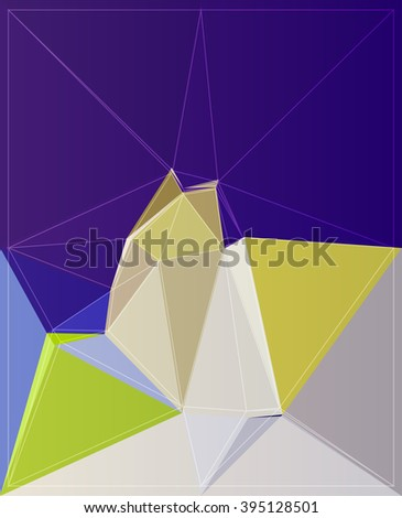 polygon wallpaper geometry modern