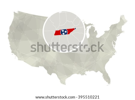 Map Of Tennessee Stock Images RoyaltyFree Images Vectors - Us map tennessee