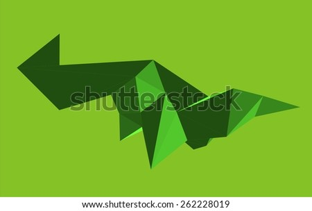 Polygonal background. Abstract geometry
