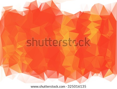 Polygonal Mosaic Background. Vector illustration, Creative Business Design Templates  - stock vector