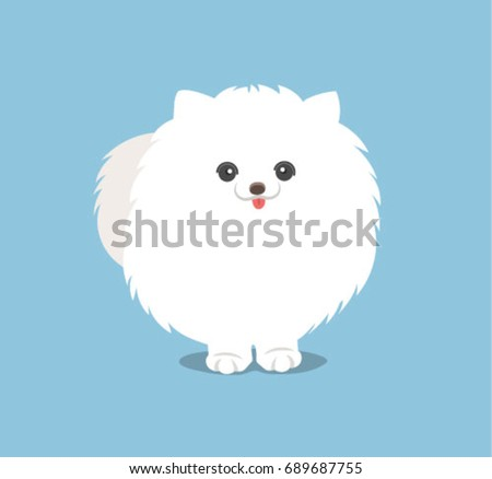 pomeranian vector pomeranian stock images royalty free images vectors 8984
