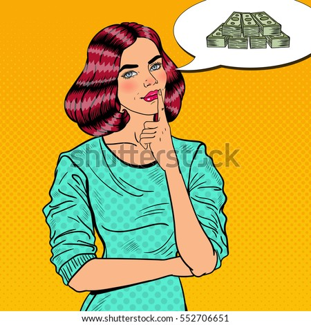 Woman Soldier Housewife Concept Feminism Services Stock Vector ...