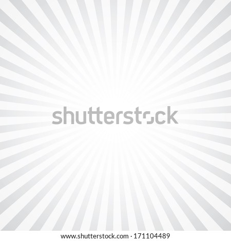 popular abstract white ray star burst background television vintage - stock vector