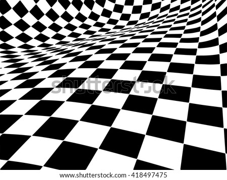 popular checker chess square abstract background vector. - stock vector