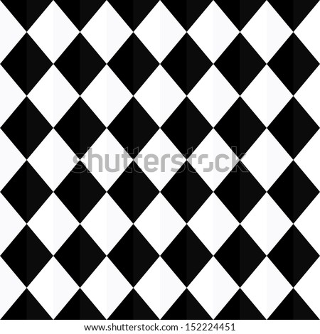 popular vintage zigzag chevron triangle pattern vector - stock vector