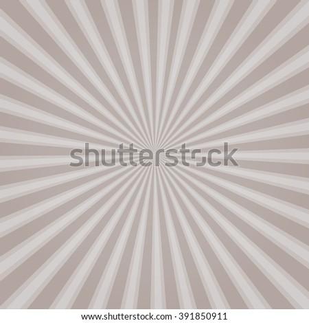 popular white ray star burst background television vintage - stock vector