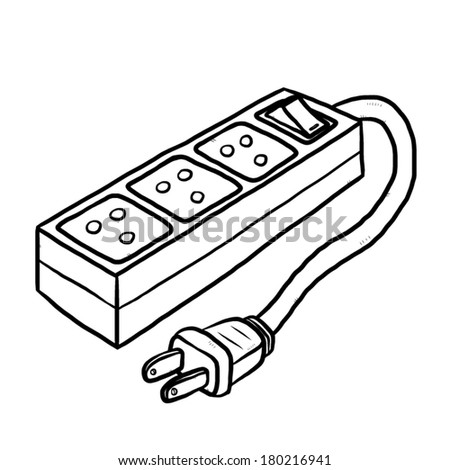 SOCKET, CARTOON, ELECTRIC, POWER, PLUG, OUTLET - Public Domain ...