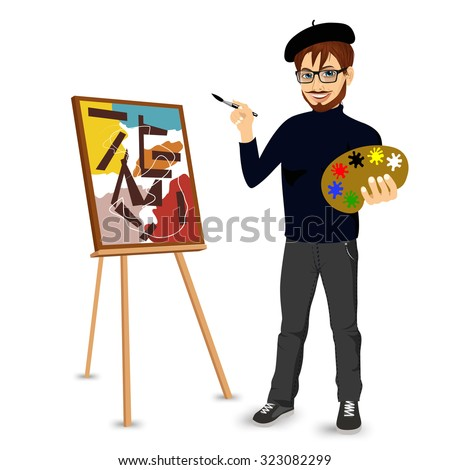 Painter Artist Stock Images Royalty Free Images Vectors