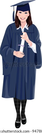 Graduation Gown Stock Images, Royalty-Free Images & Vectors ...