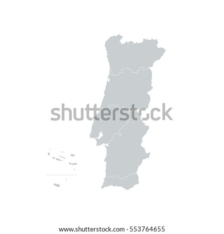 Lisbon Map Stock Images RoyaltyFree Images Vectors Shutterstock - Portugal map black and white