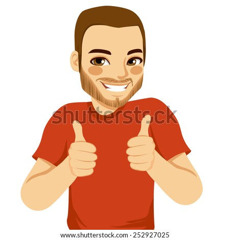 Thumbs Up Man Stock Images, Royalty-Free Images & Vectors ...