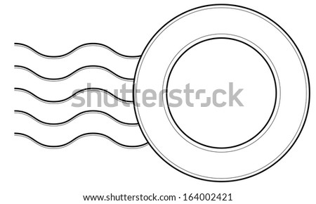 Postage Stamp - stock vector