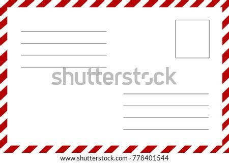 postcard how to address