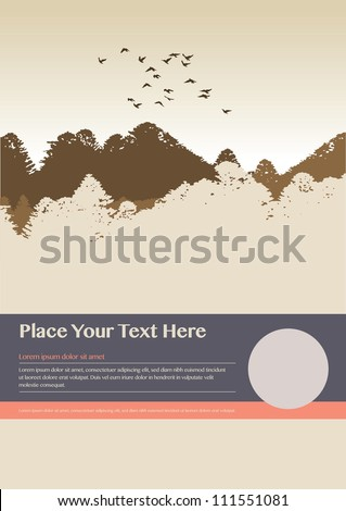 Poster/Background design/Print Graphics/Layout Design - stock vector