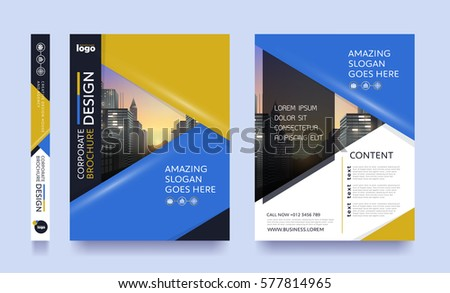 Travel Brochure Images RoyaltyFree Images Vectors – Pamphlet Layout