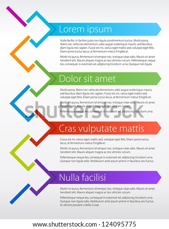 Poster or Brochure Vector Concept