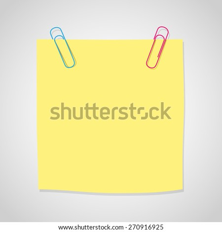 postit note icon great for any use. Vector EPS10. - stock vector
