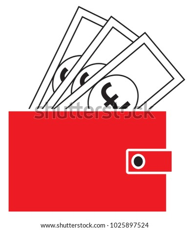 Pound Sterling Currency Icon Logo Vector Stock Vector 1025897524