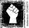 power fist - stock vector