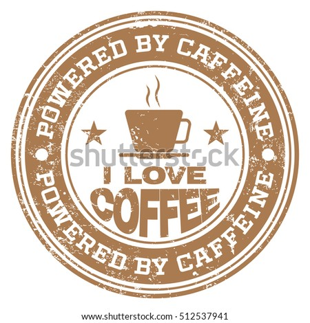 Powered By Caffeine stamp