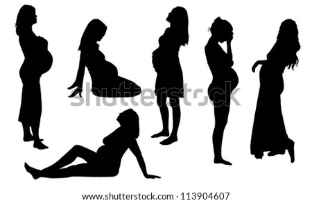 nigro pregnant naked lady