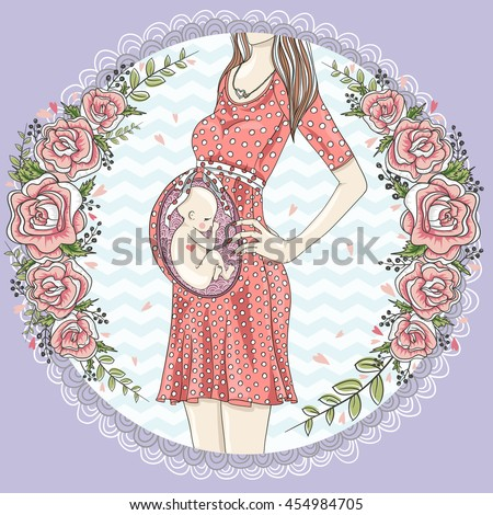 Pregnant woman with cute baby and flower frame. pregnant, pregnant, pregnant, pregnant, pregnant, pregnant, pregnant, pregnant, pregnant, pregnant, pregnant, pregnant, pregnant, pregnant, pregnant