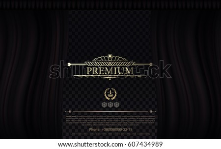 Curtains Ideas black theater curtains : Vector Red Curtains Theater Opera Dark Stock Vector 526830403 ...