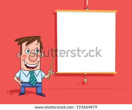Presentation - stock vector
