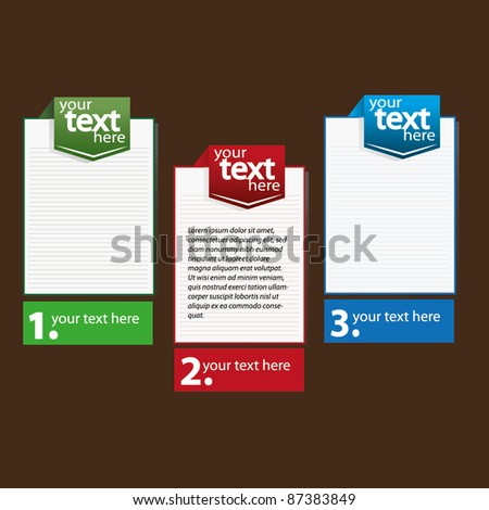 Banner text box stock images royalty free images - Text banner design ...