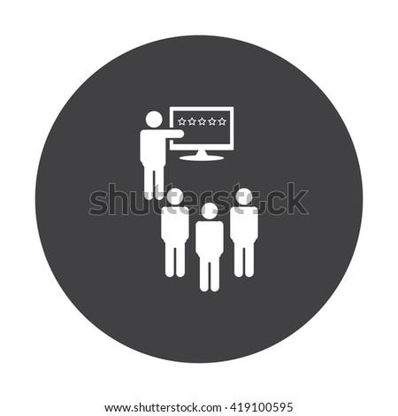 presentation Icon JPG, presentation Icon Graphic, presentation Icon Picture, presentation Icon EPS, presentation Icon AI, presentation Icon JPEG, presentation Icon, presentation Icon Vector - stock vector