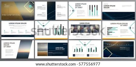 presentation templates use presentation flyer leaflet stock vector, Powerpoint templates
