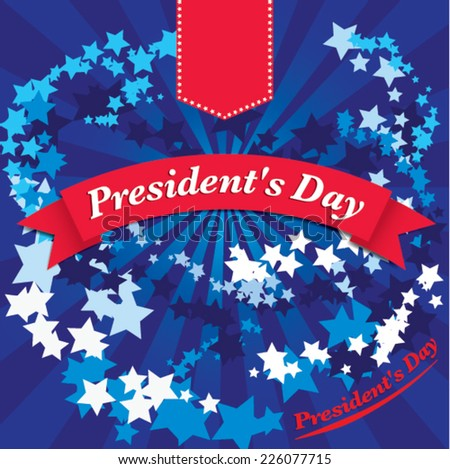 presidents day - united states. vector illustration
