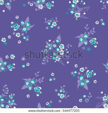 Pretty Floral - stock vector