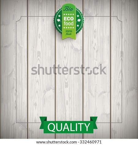 "Price stickers with german text ""Oeko Produkt, Bio"", translate ""Eco product, Bio"". Eps 10 vector file. - stock vector"