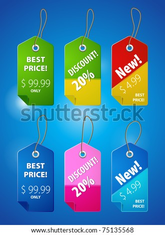 Price tab illustration