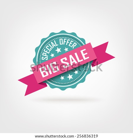 Price tag design - stock vector