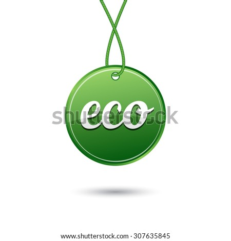 Price tag, eco